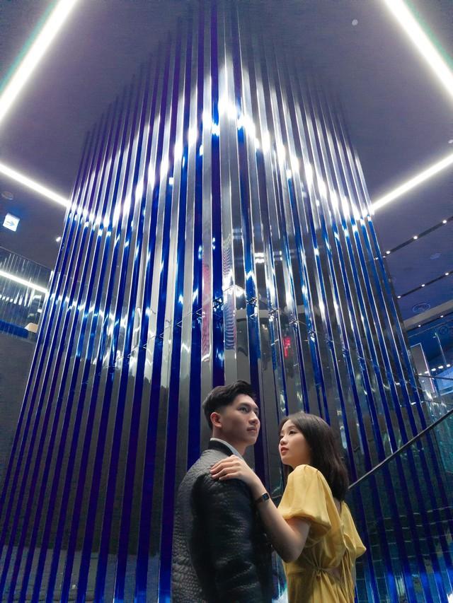 """Đến Samsung Showcase thì phải sống ảo với """"bức tường xanh"""" đang gây sốt trên MXH - Ảnh 3."""
