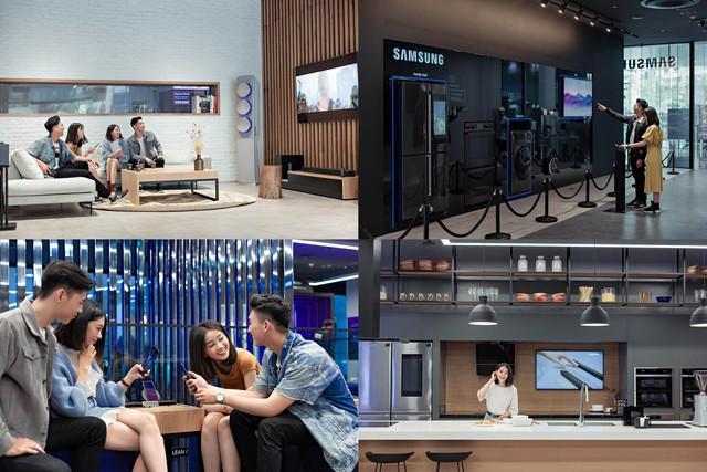 """Đến Samsung Showcase thì phải sống ảo với """"bức tường xanh"""" đang gây sốt trên MXH - Ảnh 6."""