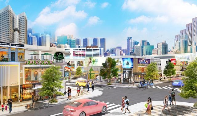 Món lợi kép khi đầu tư nhà phố thương mại - Ảnh 1.