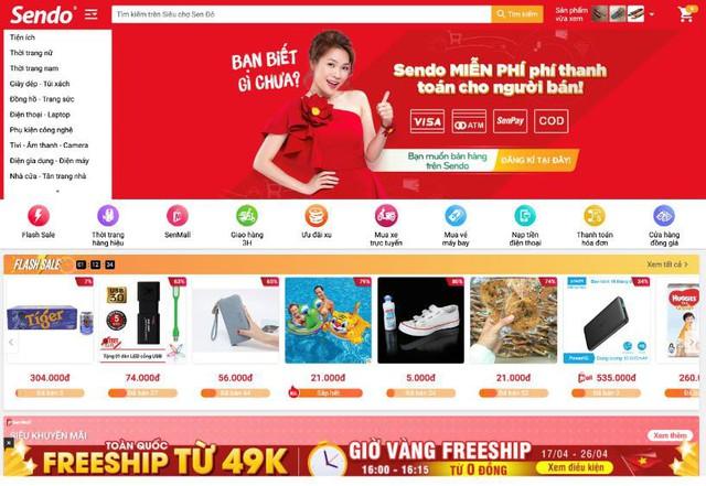 Nhà bán hàng được lợi gì từ việc miễn phí thanh toán của các sàn thương mại điện tử? - Ảnh 1.