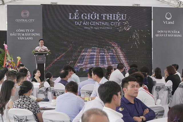 Lễ giới thiệu dự án Central City hút người mua - Ảnh 1.