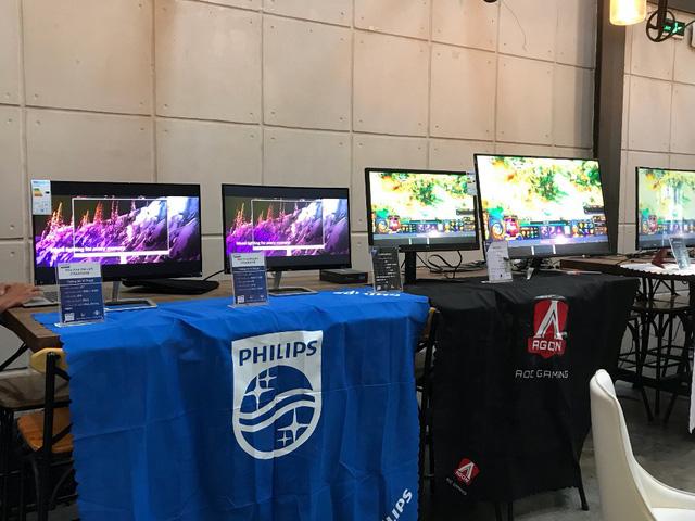 Hai nhãn màn hình AOC & Philips giới thiệu sản phẩm mới - Ảnh 1.