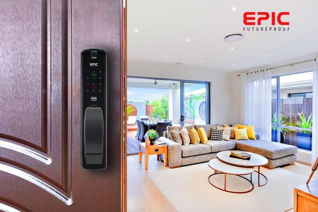 Epic - Khóa cửa thông minh cho ngôi nhà thông minh - Ảnh 1.
