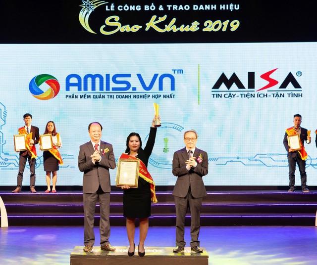 Ứng dụng trí tuệ nhân tạo, phần mềm AMIS.VN xuất sắc đạt danh hiệu Sao Khuê 2019 - Ảnh 2.