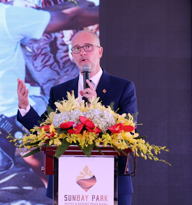 Tổng giám đốc Tập đoàn thiết kế NDA: Tôi choáng ngợp với Ninh Thuận và muốn tạo ra một công trình biểu tượng - Ảnh 1.