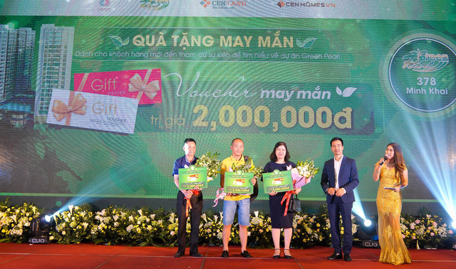 Gần 400 khách hàng dự lễ tri ân dự án Green Pearl 378 Minh Khai - Ảnh 2.