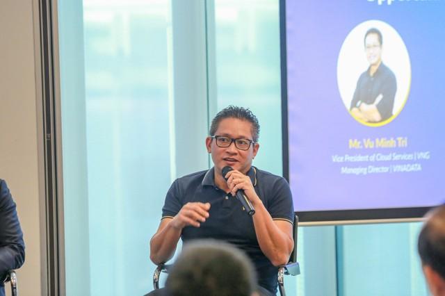 """VINADATA CEO Vũ Minh Trí: """"Ngành điện toán đám mây có cơ hội tận dụng đến 60% GDP của Việt Nam"""" - Ảnh 1."""