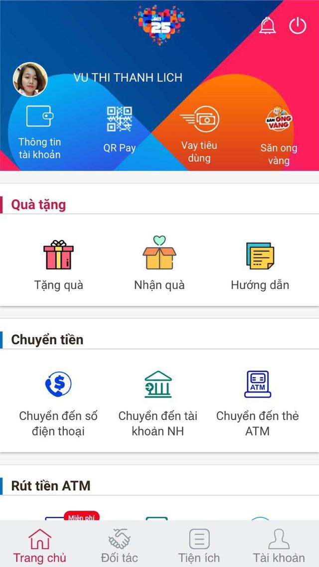 Chuyển và nhận tiền trong 1 giây với App MBBank - Ảnh 1.