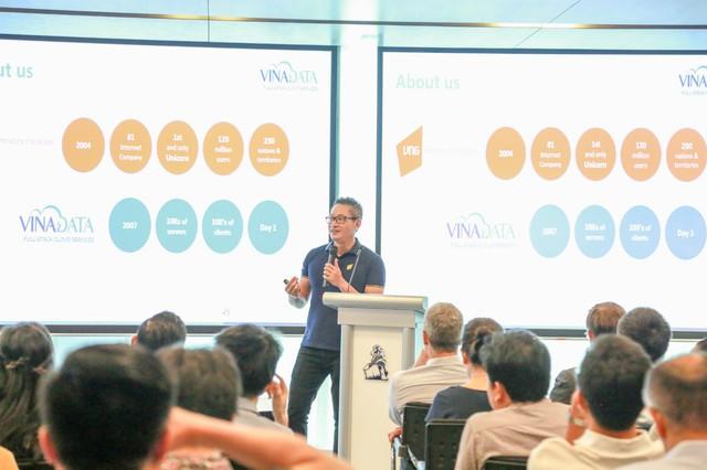 """VINADATA CEO Vũ Minh Trí: """"Ngành điện toán đám mây có cơ hội tận dụng đến 60% GDP của Việt Nam"""" - Ảnh 2."""