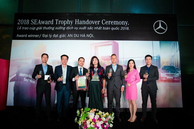 Mercedes-Benz An Du xuất sắc giành nhiều giải thưởng quan trọng tại Lễ tôn vinh Đại lý năm 2018 của Mercedes-Benz Việt Nam - Ảnh 1.