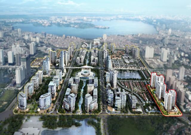 Giới đầu tư hào hứng với dự án mang đậm hơi thở xứ Hàn phía Tây Hồ Tây - Ảnh 1.