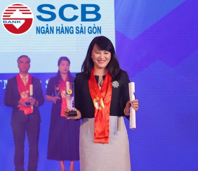 SCB nhận giải thưởng thương hiệu mạnh Việt Nam - Ảnh 1.