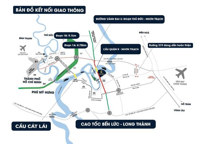 Thị trường TP.HCM khó khăn, dòng tiền đổ về bất động sản Nhơn Trạch - Ảnh 2.