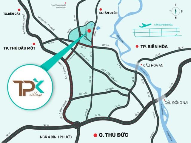 Bất động sản Tân Phước Khánh, Bình Dương thu hút nhà đầu tư - Ảnh 1.