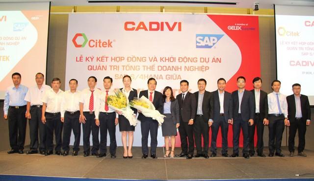 CADIVI đầu tư 2 triệu USD triển khai giải pháp hoạch định tổng thể nguồn lực doanh nghiệp SAP - Ảnh 2.