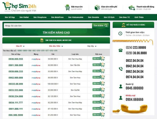 Lựa chọn những số sim Mobifone ưng ý với mức giá hợp lý tại Chosim24h.com - Ảnh 1.