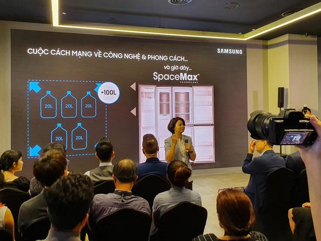 Samsung ra mắt tủ lạnh Side by Side RS5000: Thiết kế sang trọng, công nghệ mới tăng dung tích giữ lạnh ở mọi góc - Ảnh 2.