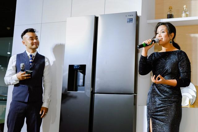 Samsung ra mắt tủ lạnh Side by Side RS5000: Thiết kế sang trọng, công nghệ mới tăng dung tích giữ lạnh ở mọi góc - Ảnh 6.