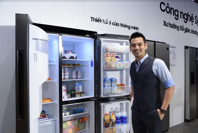 Samsung ra mắt tủ lạnh Side by Side RS5000: Thiết kế sang trọng, công nghệ mới tăng dung tích giữ lạnh ở mọi góc - Ảnh 7.