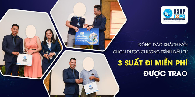 BSOP EXPO II Hà Nội – Mở màn chuỗi BSOP EXPO quý II đầy ấn tượng - Ảnh 1.