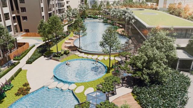 Palm Garden, tổ ấm 'xanh' cho con trẻ một tuổi thơ trọn vẹn - Ảnh 1.