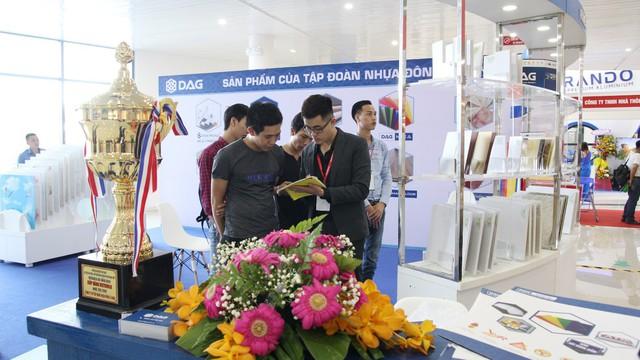 DAG tham dự triển lãm Quốc tế Vietbuild Đà Nẵng 2019 - Ảnh 2.
