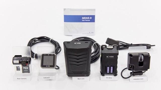 """Movon MDAS-9 - Hệ thống hỗ trợ lái xe tiên tiến với giá """"mềm"""" tới Việt Nam - Ảnh 1."""