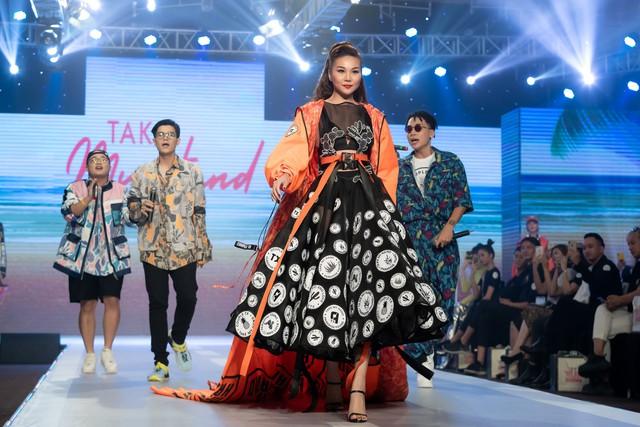 Dàn sao Việt đình đám quy tụ trong fashion show hoành tráng do Thanh Hằng làm vedette - ảnh 8