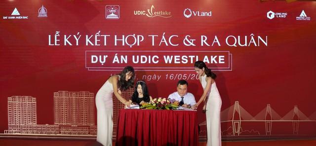 Lễ ký kết hợp tác và ra quân dự án Udic Westlake - Ảnh 1.