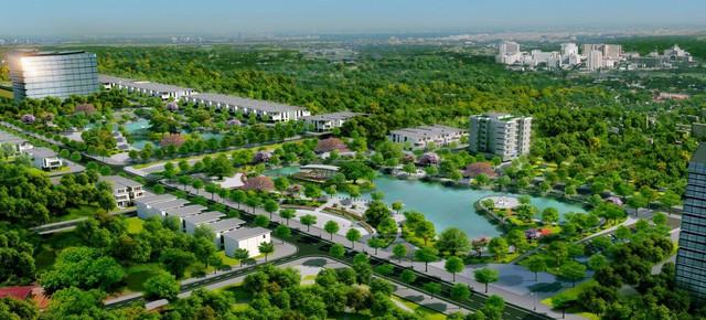 Hé lộ về dự án đang gây chú ý tại sông công Thái Nguyên - Ảnh 2.