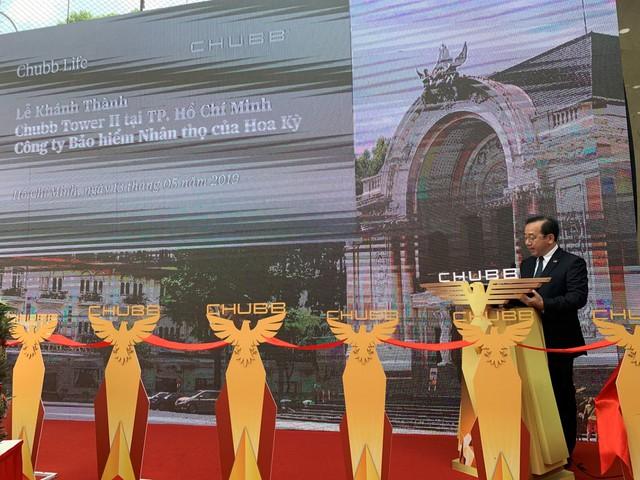 Chubb Life Việt Nam khánh thành Chubb Tower II mới tại thành phố Hồ Chí Minh - Ảnh 1.