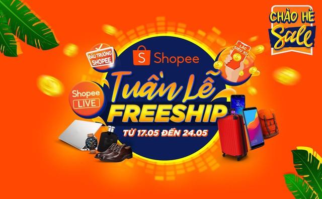 Shopee freeship 50K cực hot, cộng đồng nghiện shopping háo hức thức đêm săn deal khủng - ảnh 1