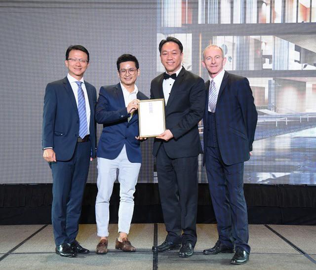 SonKim Land đạt 2 giải thưởng quốc tế với dự án The Galleria Residence - Ảnh 1.