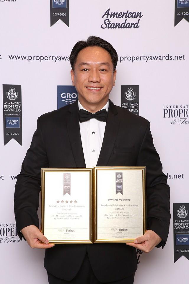 SonKim Land đạt 2 giải thưởng quốc tế với dự án The Galleria Residence - Ảnh 2.