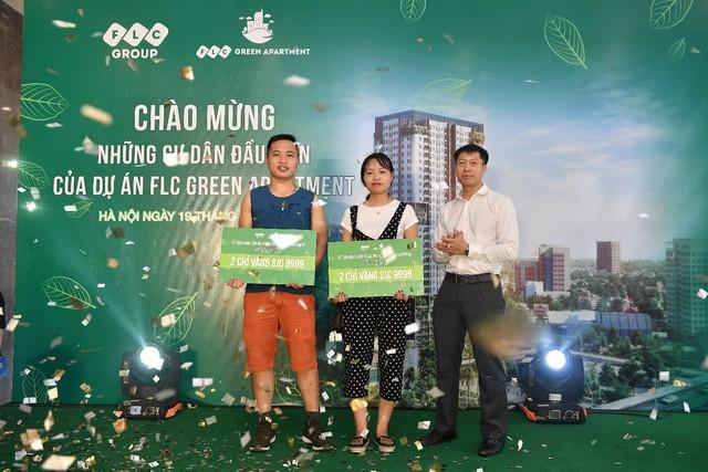 FLC Green Apartment tưng bừng chào đón những cư dân đầu tiên - Ảnh 1.