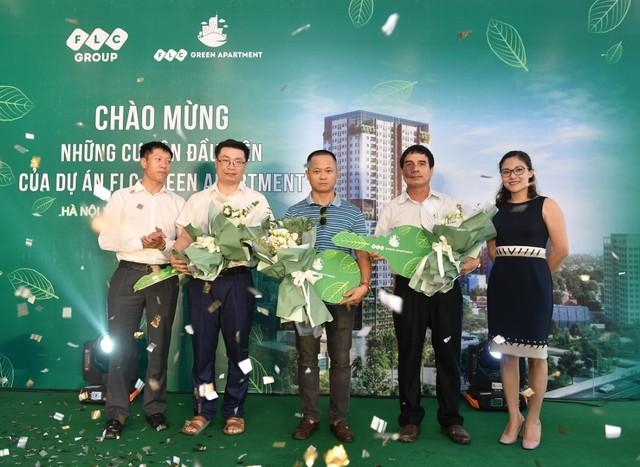 FLC Green Apartment tưng bừng chào đón những cư dân đầu tiên - Ảnh 2.