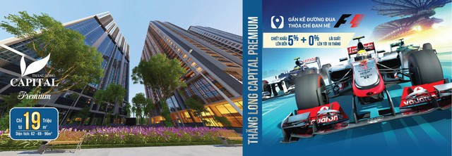 """Các dự án mở bán tại trục đại lộ Thăng Long """"hứa hẹn"""" tăng giá vì đường đua F1 - Ảnh 1."""