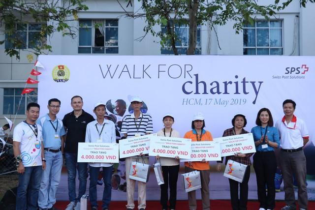 """Chương trình """"Đi bộ từ thiện"""" Swiss Post Solutions Vietnam – """"Bước chân sẻ chia"""" - Ảnh 2."""
