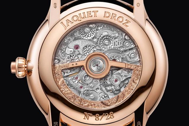 Jaquet Droz đưa bức hoạ động đầm sen, cá Koi và chuồn chuồn lên đồng hồ Magic Lotus Automaton - Ảnh 6.