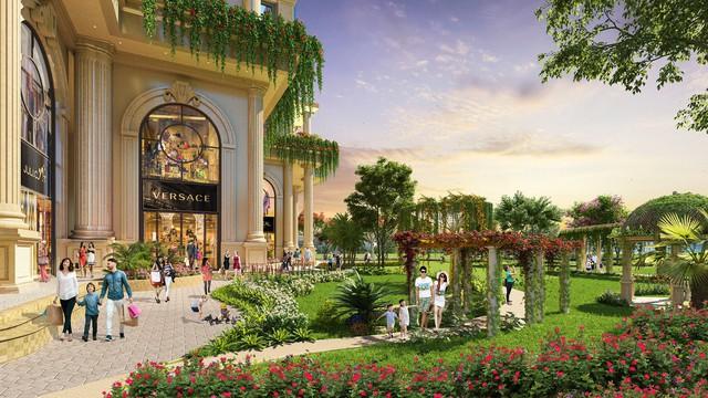 Trải nghiệm resort 5 sao & Vườn La Mã trên không tại Thủ Thiêm - Ảnh 2.