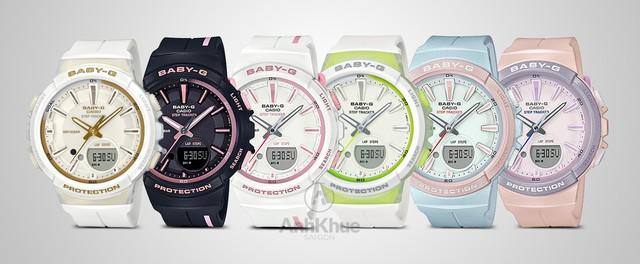 """Ngắm trọn bộ đồng hồ """"trợ lý thể thao"""" Casio G-Squad thu hút giới trẻ châu Á - Ảnh 5."""