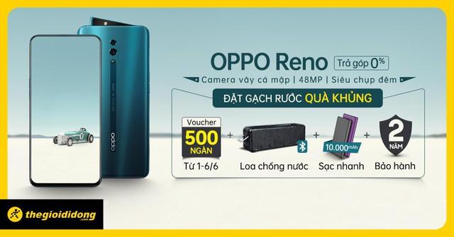 Thế Giới Di Động chơi lớn, tung ưu đãi đặc biệt trước thềm ra mắt Oppo Reno - ảnh 2