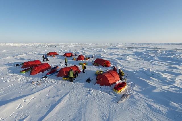 Chán nghỉ dưỡng, đại gia, người có tiền rủ nhau lên Bắc Cực - Ảnh 1.
