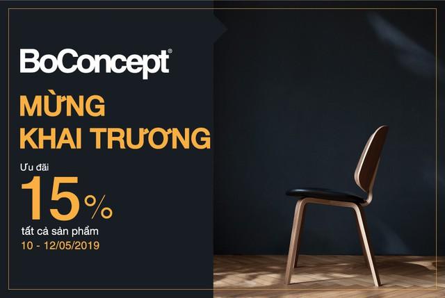 Nội thất Boconcept khai trương showroom bậc nhất Châu Á - Ảnh 5.