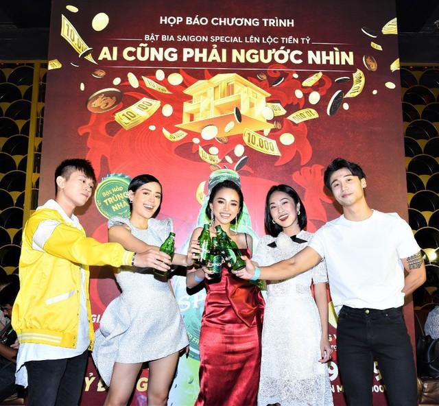 """Sabeco công bố chương trình khuyến mãi """"Bật bia Saigon Special lên lộc tiền tỷ"""" - Ảnh 1."""
