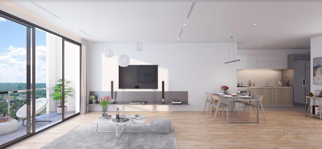 Nhiều nhà đầu tư chờ ngày mở bán chung cư cao cấp The Zei - Ảnh 1.