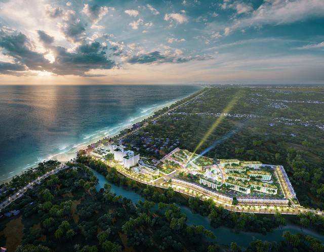 Bình Thuận: Nhiều dự án bất động sản đổ bộ, giá đất tăng - Ảnh 1.