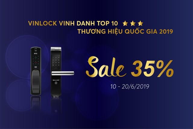 Vinlock tự hào vinh danh Top 10 thương hiệu nổi tiếng 2019 - Ảnh 2.