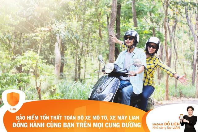 Ứng dụng bảo hiểm công nghệLIANra mắt sản phẩm bảo hiểm toàn bộ mô tô xe máy - Ảnh 2.