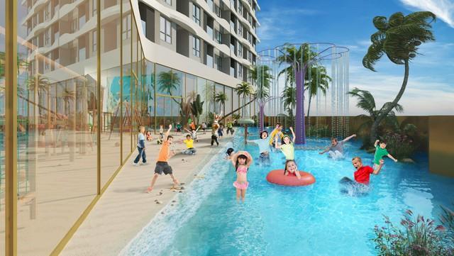 Sắp có tổ hợp hồ bơi điện phân đồng tốt cho sức khoẻ tại trung tâm Chợ Lớn - Ảnh 1.